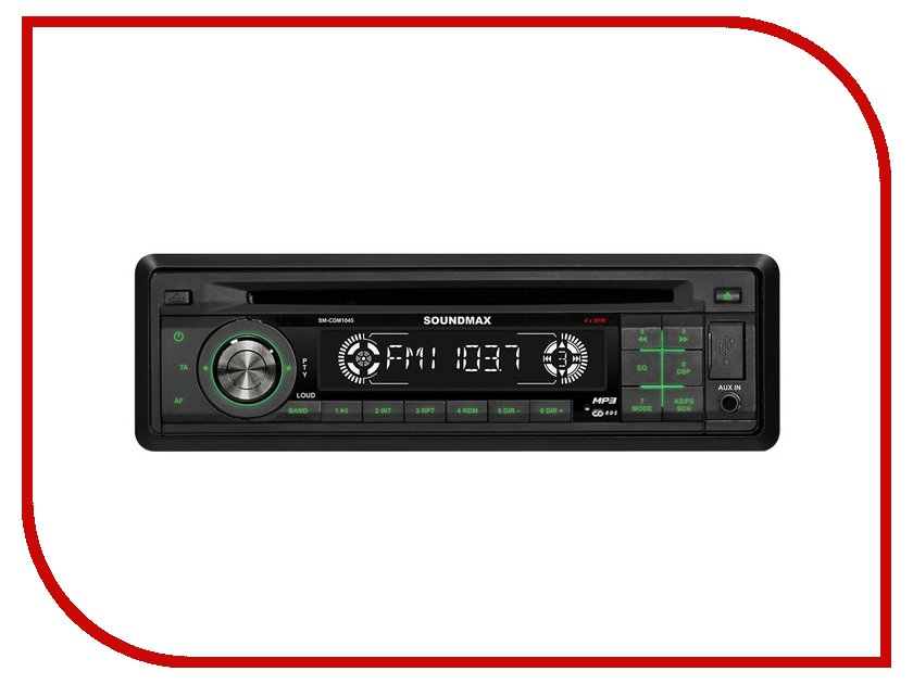 Автомагнитола Soundmax SM-CDM1045<br>