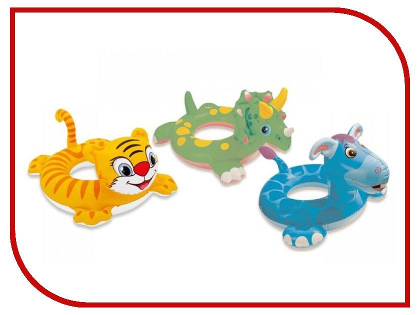 Купить Надувной круг Intex Любимые животные 58221