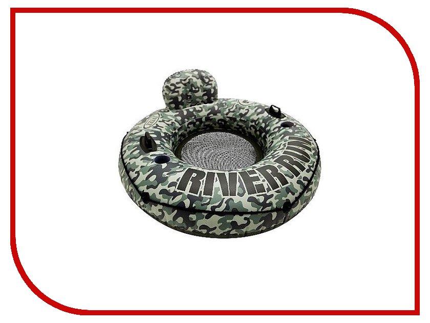 Надувной круг Intex Ривер 58835NP лодка intex challenger k1 68305