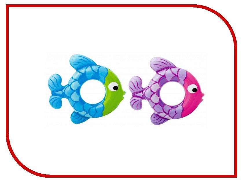 Надувной круг Intex Рыбка 59222NP