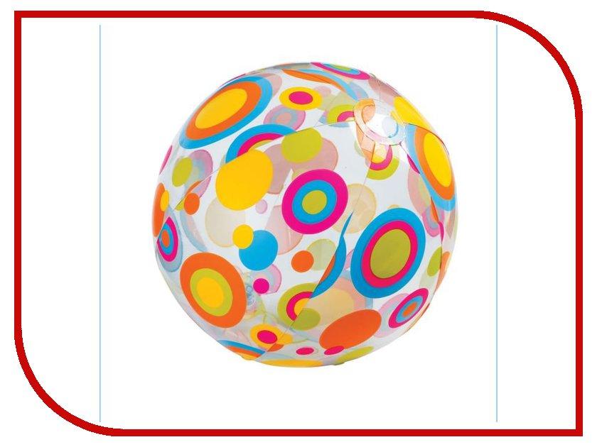 Надувная игрушка Intex Мяч Ливели 59040 intex узоры ливели 3 вида 61см от 3лет intex