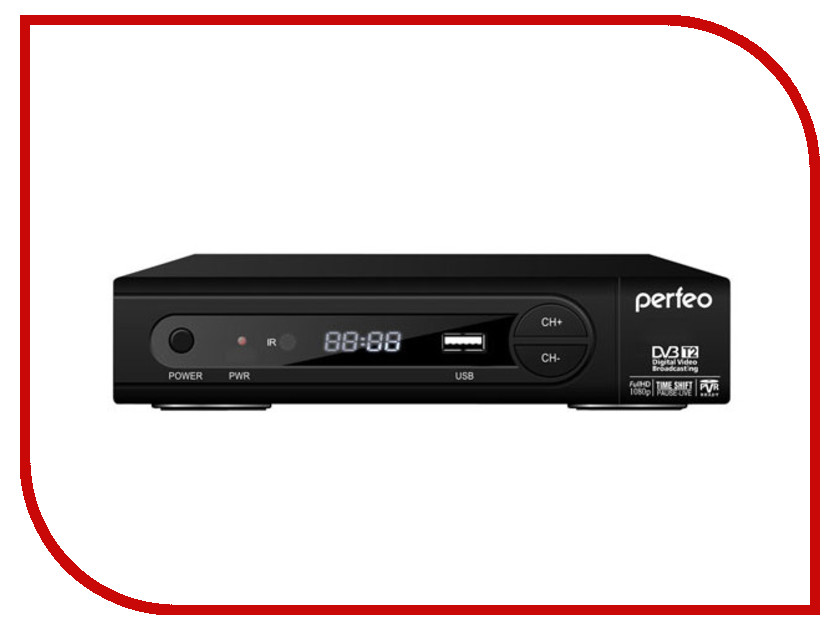 Тюнер Perfeo DVB-T2 PF-168-1 IN<br>