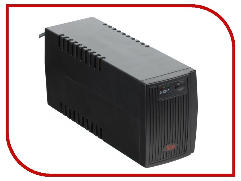 Источник бесперебойного питания 3Cott Micropower 650VA 360W