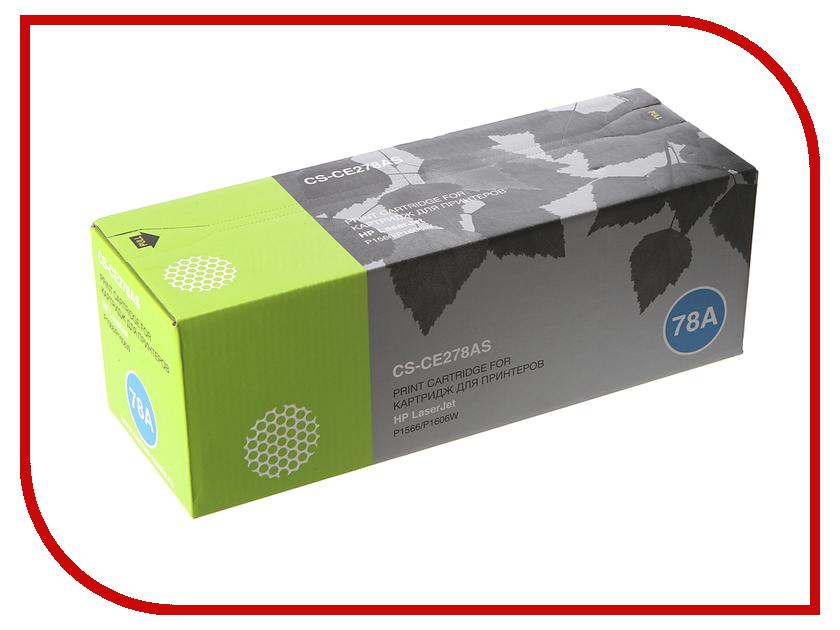 Картридж Cactus CS-CE278AS для HP LaserJet P1566/P1606w Black картридж cactus 520 cs pgi520bk black