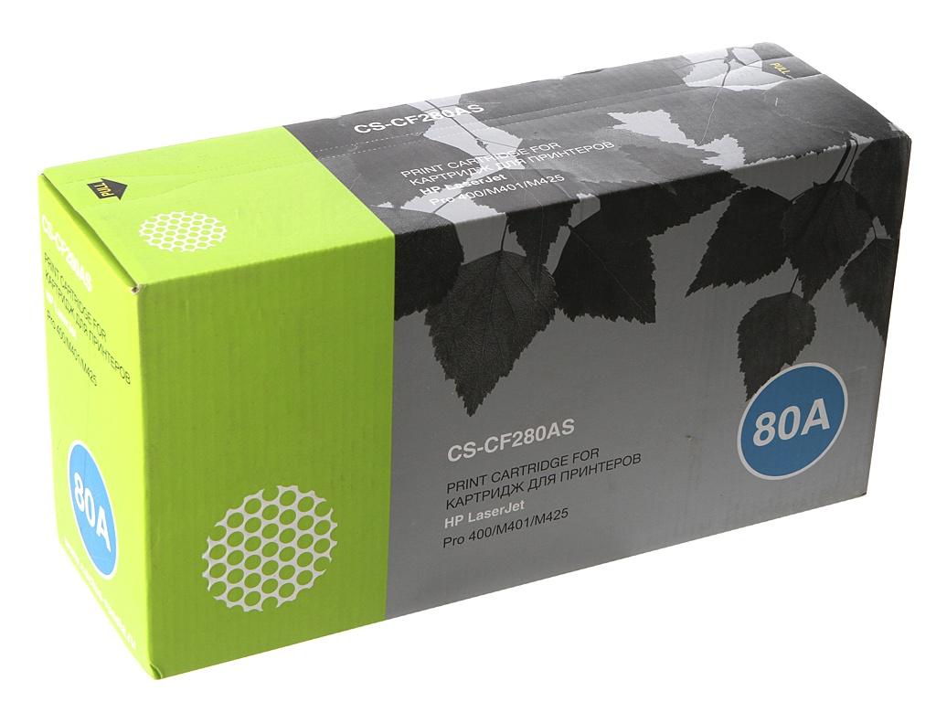 Картридж Cactus CS-CF280AS Black для HP LJ Pro 400/M401/M425