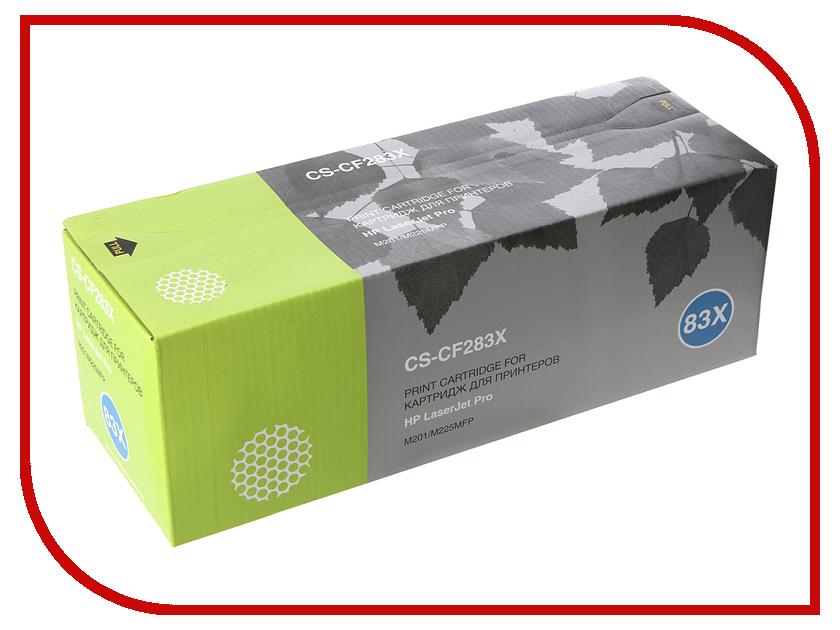 Картридж Cactus CS-CF283X для HP LaserJet Pro M201/M225MFP Black тонер картридж cactus cs ep22s