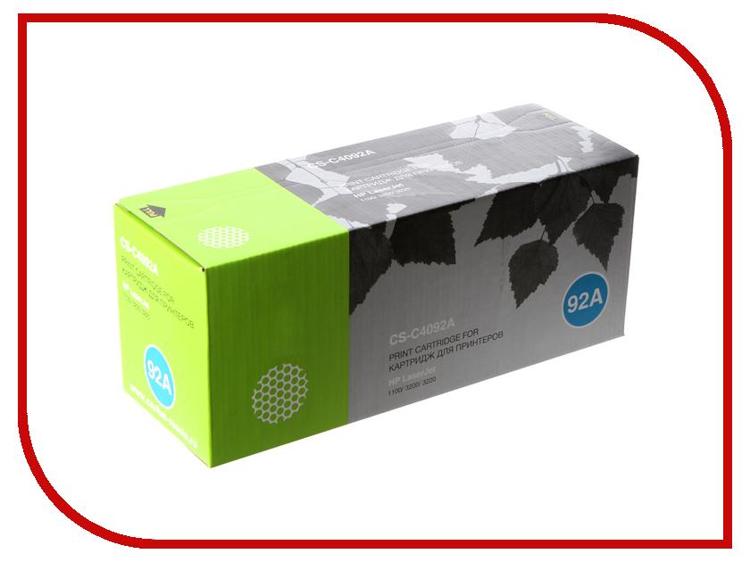 Картридж Cactus CS-C4092A для HP LaserJet 1100/3200/3220 Black картридж nv print для hp lj 1100 1100a 3200 c4092a