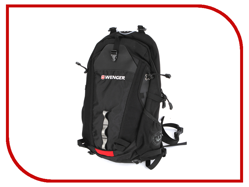 Рюкзак Wenger Narrow Hiking Pack Black 13022215