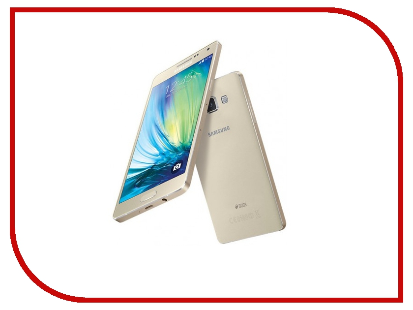 Сотовый телефон Samsung SM-A500F/DS Galaxy A5 Duos Gold blog