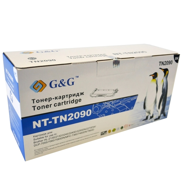 Картридж G&amp;G NT-TN2090 for Brother HL-2130/2132/2240/2250/DCP-7055/7060/7065/MFC-7360/7860<br>