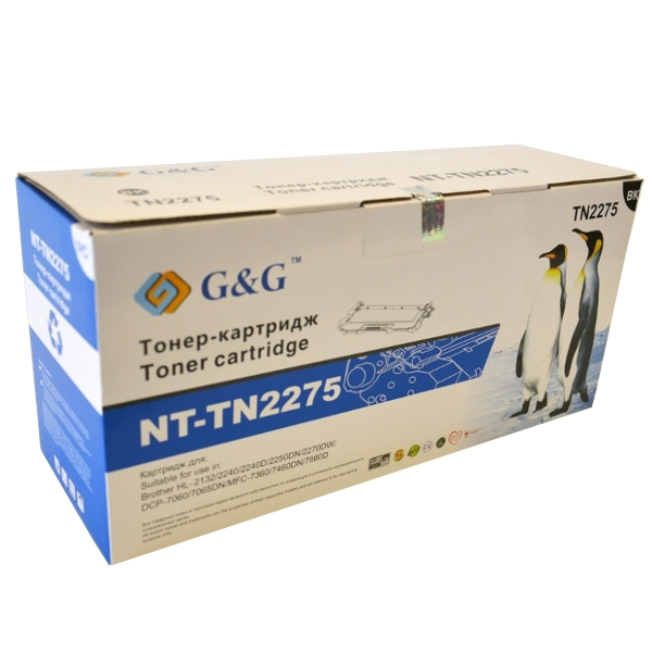 Картридж G&amp;G NT-TN2275 for Brother HL-2130/2132/2240/2250/DCP-7055/7060/7065/MFC-7360/7860<br>