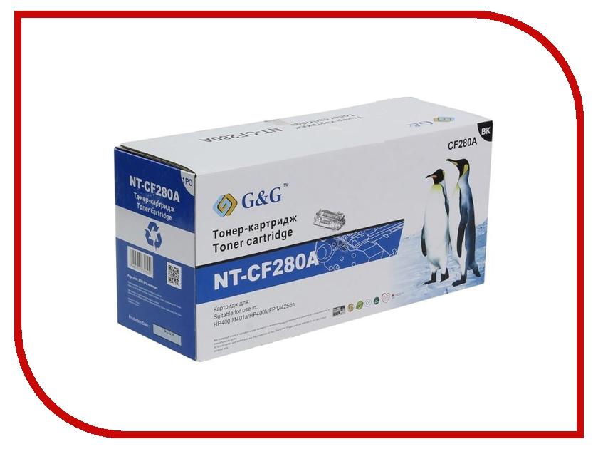 Картридж G&amp;G NT-CF280A for HP LaserJet Pro 400/M401/M425<br>