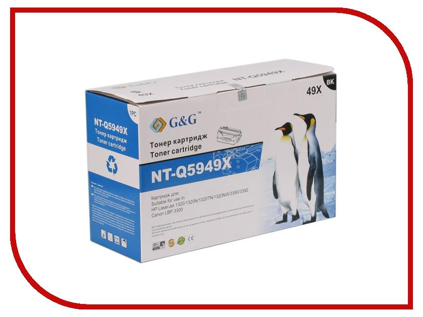 Картридж G&amp;G NT-Q5949X for HP LaserJet 1320/3390/3392/Canon LBP-3300/3360<br>