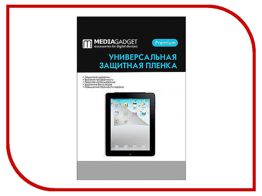 все цены на  Аксессуар Защитная пленка Alcatel OneTouch POP D5 5038D Media Gadget Premium прозрачная MG998  онлайн