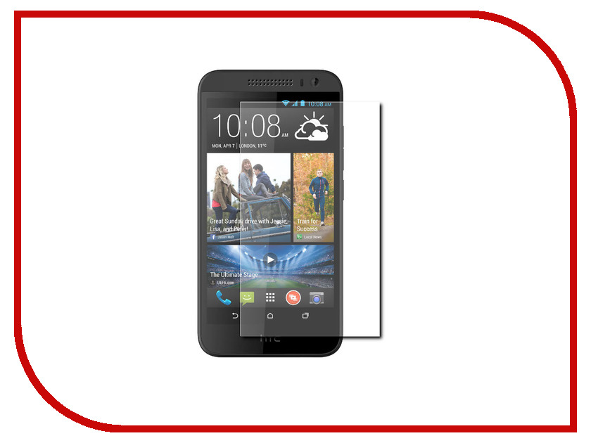 Аксессуар Защитная пленка HTC Desire 616 Dual Sim Media Gadget Premium антибликовая MG1047