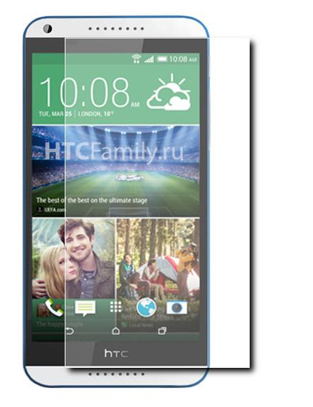 Аксессуар Защитная пленка HTC Desire 820 Media Gadget Premium прозрачная MG1050<br>