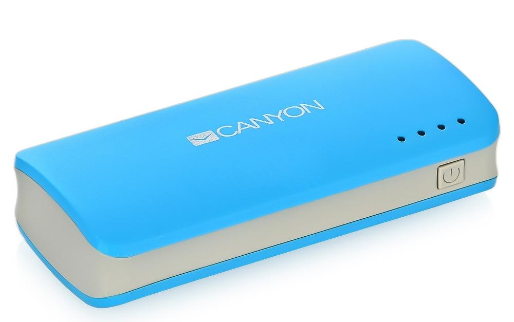 Аккумулятор Canyon CNE-CPB44BL 4400 mAh Blue