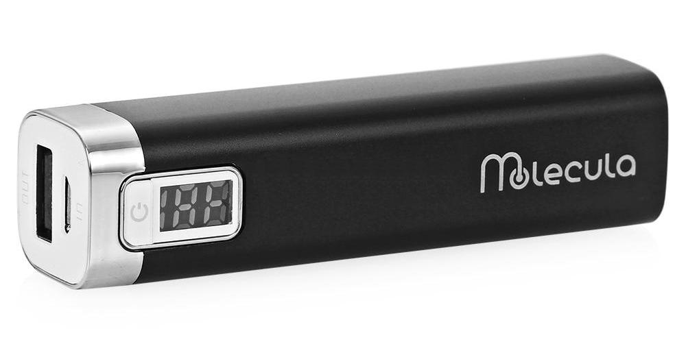 Аккумулятор Molecula 2200 mAh PB-2.2-02DB Black