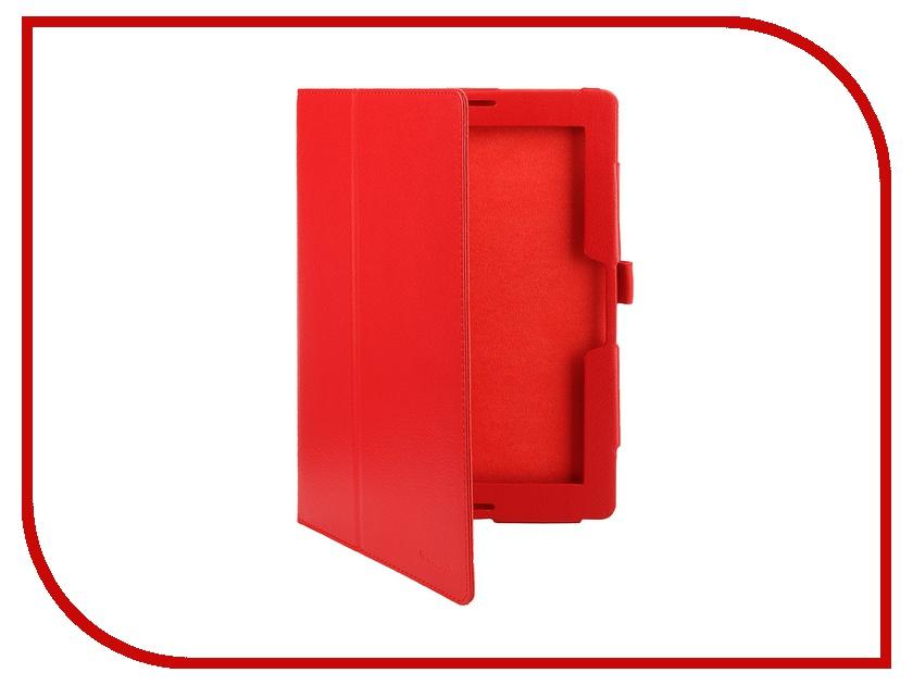 Аксессуар Чехол Lenovo Idea Tab A10-70 A7600 10 IT Baggage иск. кожа Red ITLNA7602-3