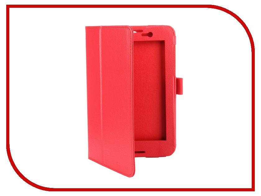 Аксессуар Чехол Lenovo Tab A7-50 A3500 7.0 IT Baggage иск. кожа Red ITLNA3502-3<br>