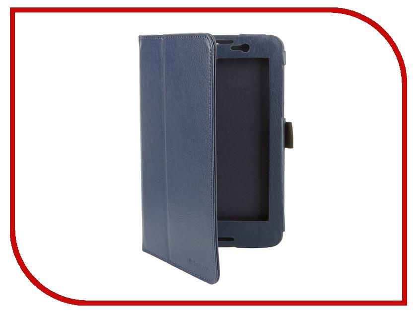 Аксессуар Чехол Lenovo Tab A7-50 A3500 7.0 IT Baggage иск. кожа Blue ITLNA3502-4 hyundai it a7 планшет