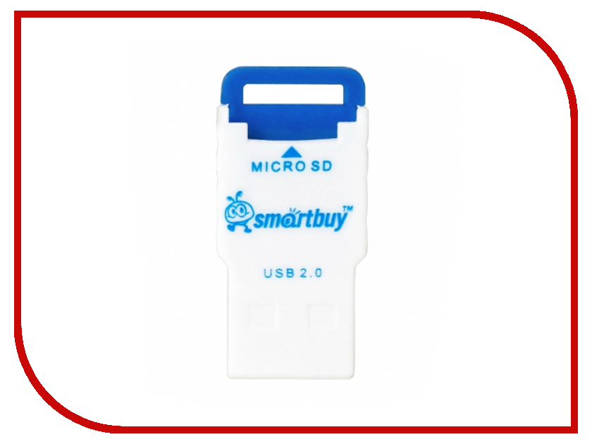 Карт-ридер SmartBuy SBR-707 Blue SBR-707-B<br>