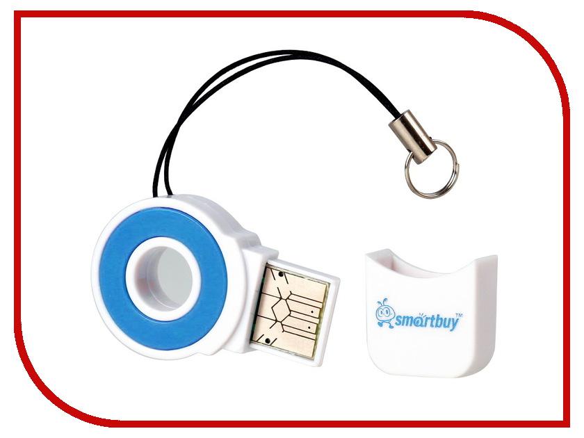 Карт-ридер SmartBuy SBR-708 Blue SBR-708-B<br>