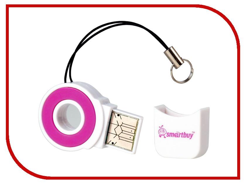 Карт-ридер SmartBuy SBR-708 Pink SBR-708-P<br>