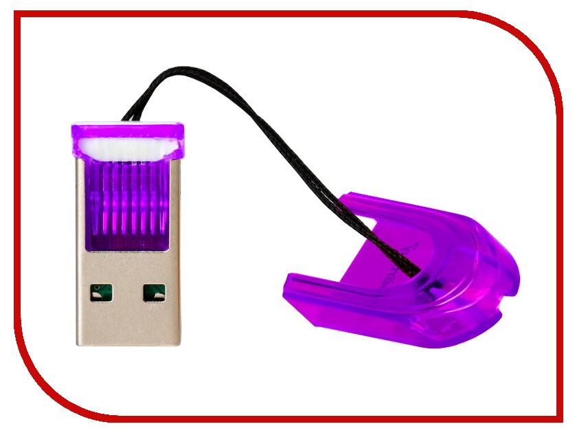 Карт-ридер SmartBuy SBR-710-F Purple<br>