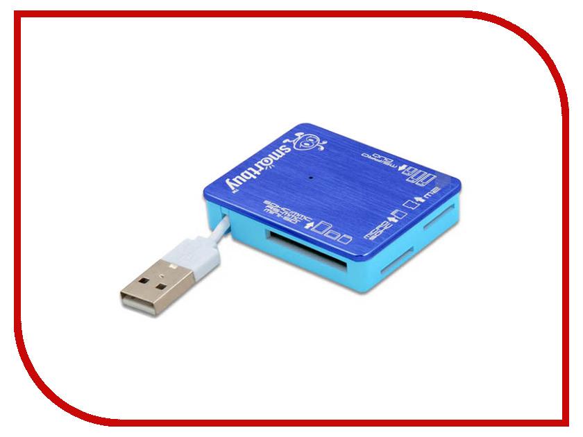 Карт-ридер SmartBuy SBR-735 Blue SBR-735-B