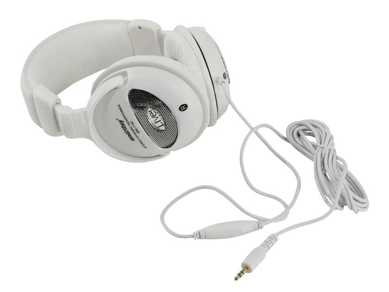 Наушники SmartBuy LIVE! White SBE-7100 — SBE-7100