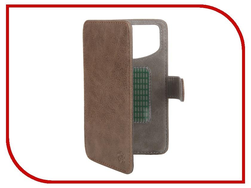 Аксессуар Чехол-книжка Norton 4.6-5-inch универсальный, на клейкой основе Brown чехлы для телефонов norton кобура на ремень norton 4 4 5