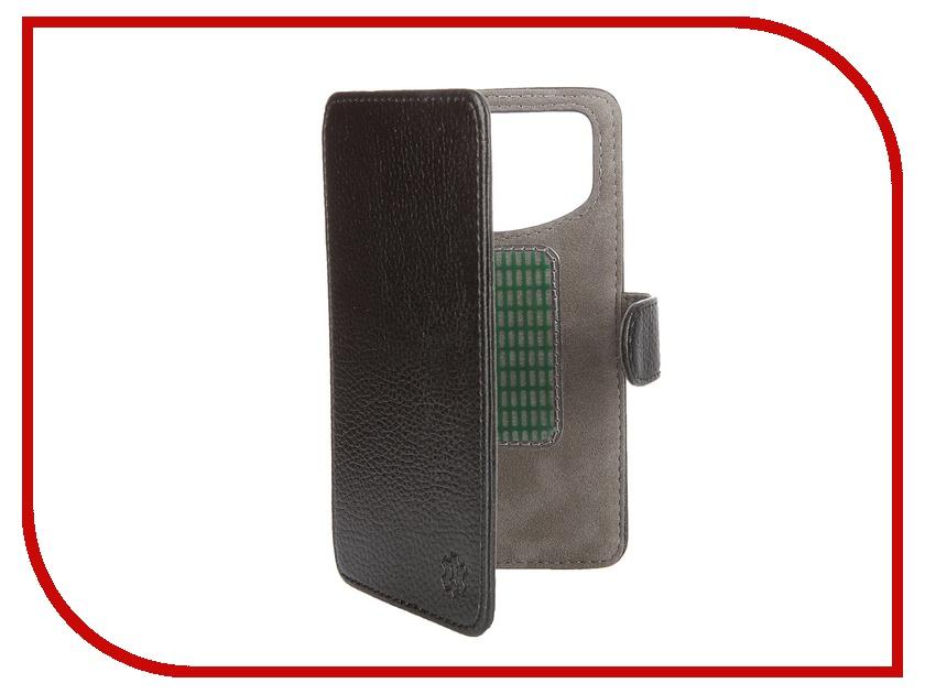 Аксессуар Чехол-книжка Norton 4.6-5-inch универсальный, на клейкой основе Black аксессуар чехол книжка time 4 3 4 5 inch универсальный на клейкой основе black crocodile