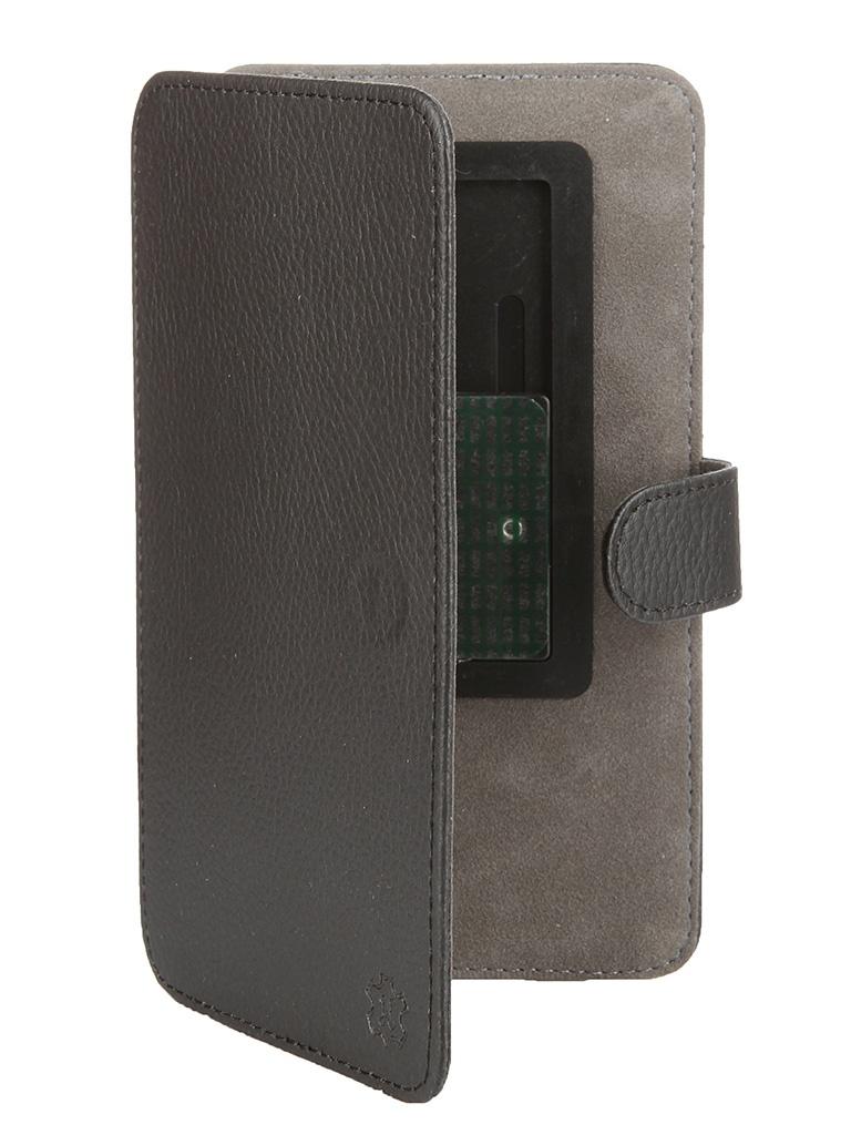 Аксессуар Чехол-книжка Norton 5.5-6-inch универсальный, на клейкой основе, с выдвижным механизмом Black