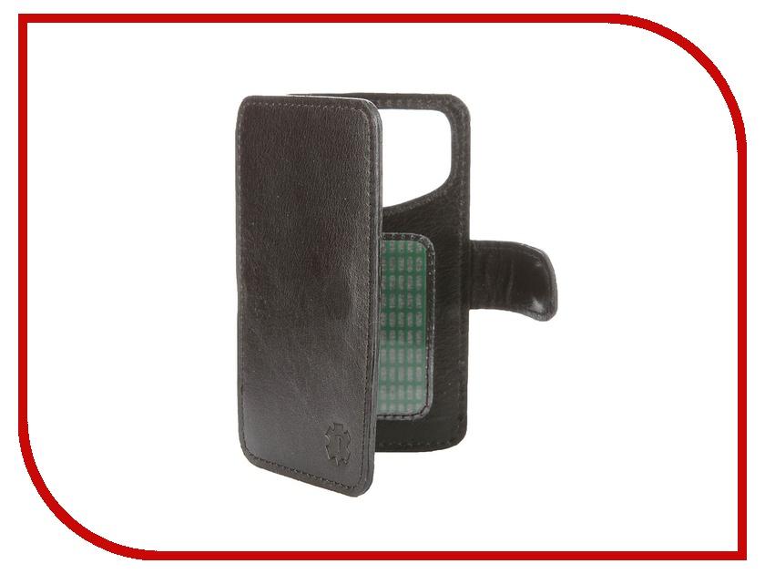Аксессуар Чехол-книжка Time 3.5-3.9-inch универсальный, на клейкой основе Black аксессуар чехол книжка time 4 3 4 5 inch универсальный на клейкой основе black crocodile
