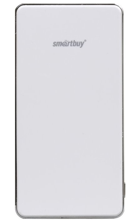 Аккумулятор SmartBuy Power Bank X-6000 6000 mAh SBPB-6000 White