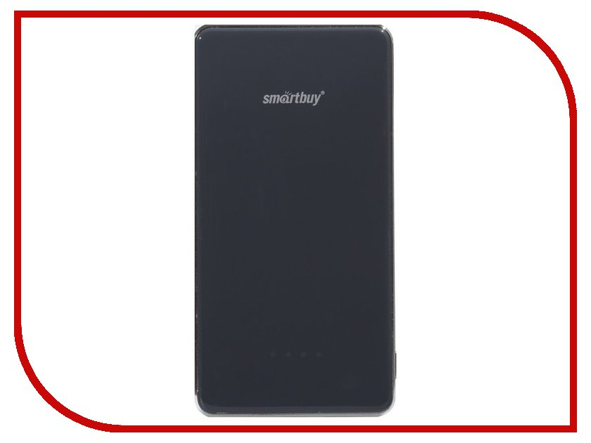 Аккумулятор SmartBuy Power Bank X-6000 6000 mAh Grey SBPB-6020