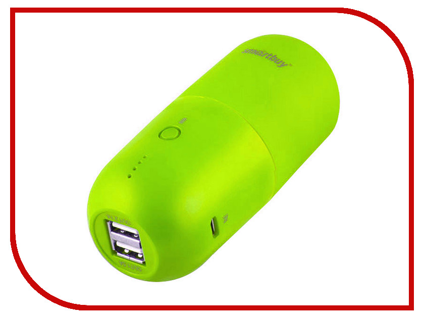 ����������� SmartBuy Power Bank Capsule MKII 10400 mAh Green SBPB-7020