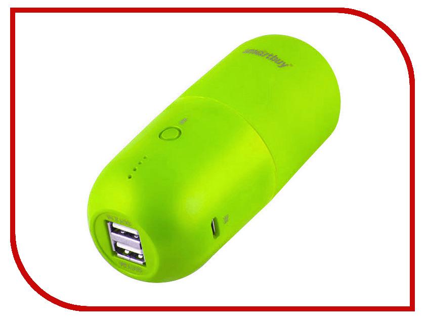 Аккумулятор SmartBuy Power Bank Capsule MKII 10400 mAh Green SBPB-7020