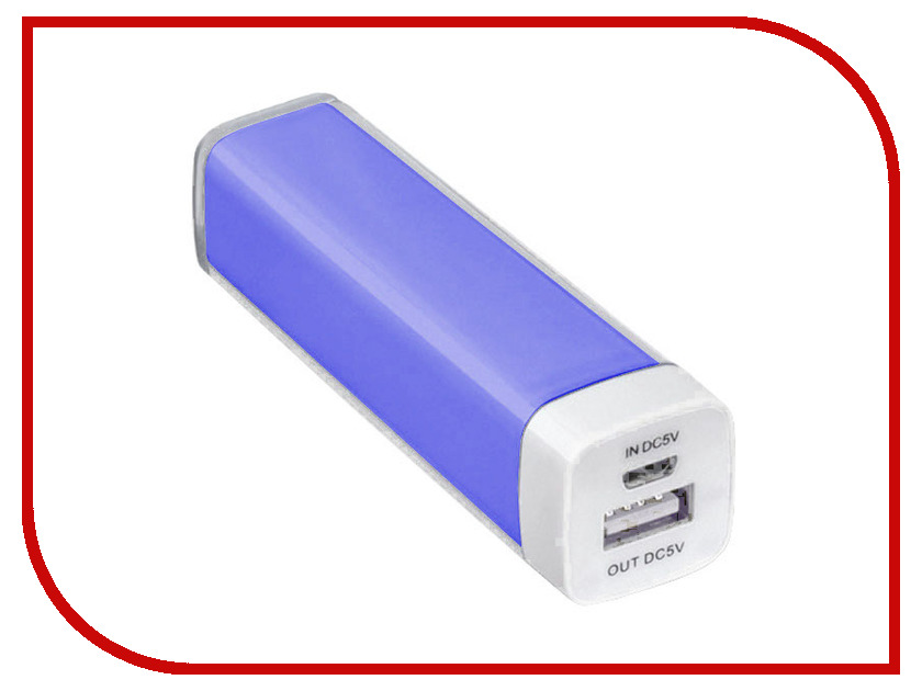 Аккумулятор SmartBuy Power Bank EZ-BAT 2000mAh Blue SBPB-1040