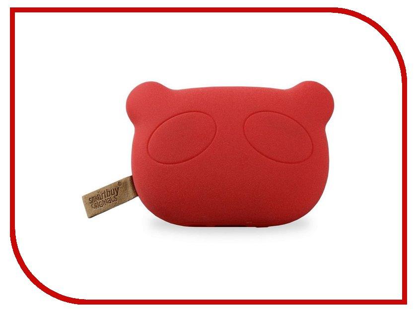 Аккумулятор SmartBuy Power Bank Panda Rules 5200 mAh SBPB-8020 Red<br>