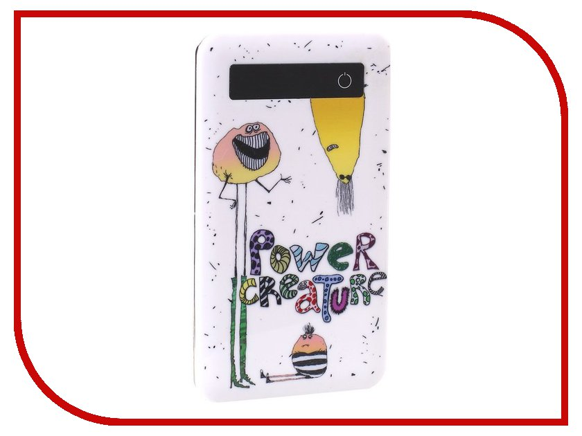 Аккумулятор SmartBuy Power Bank Power Creature 4500 mAh SBPB-4000<br>