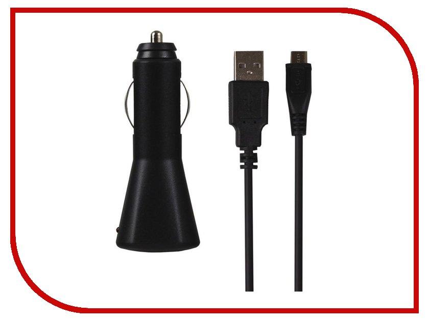 Зарядное устройство SmartBuy Nova MicroUSB 2.1A Black SBP-1120
