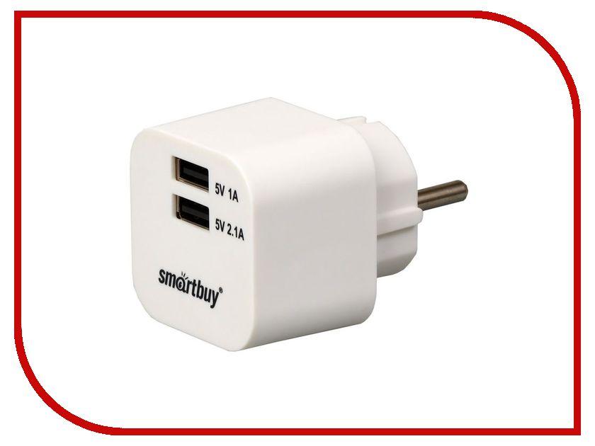 �������� ���������� SmartBuy Volt 2xUSB 3.1A SBP-2100 White