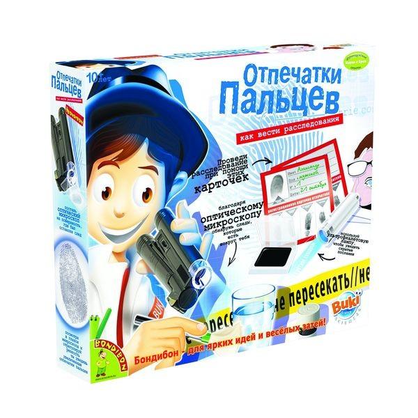 игрушка Bondibon Науки с Буки Отпечатки пальцев BB0924<br>
