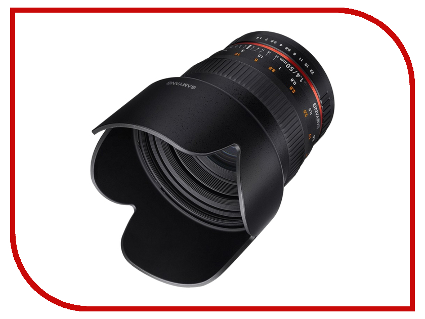 Объектив Samyang 50mm f/1.4 AS UMC Sony E<br>