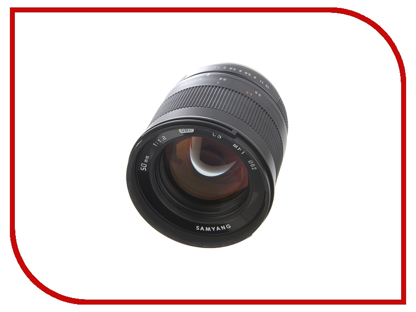 Объектив Samyang 50 mm f/1.2 AS UMC CS for Micro 4/3<br>
