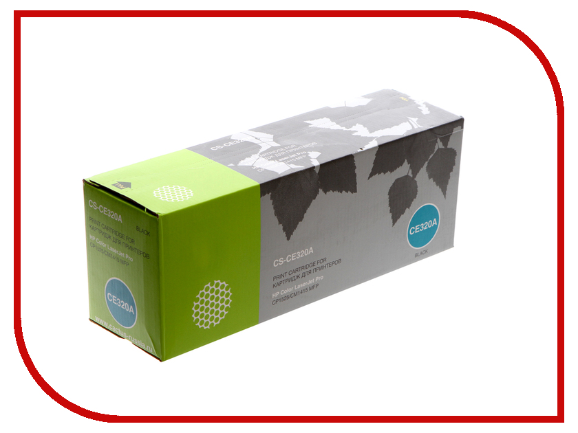 Картридж Cactus CS-CE320A для HP LaserJet CP1525 Black new paper delivery tray assembly output paper tray rm1 6903 000 for hp laserjet hp 1102 1106 p1102 p1102w p1102s printer