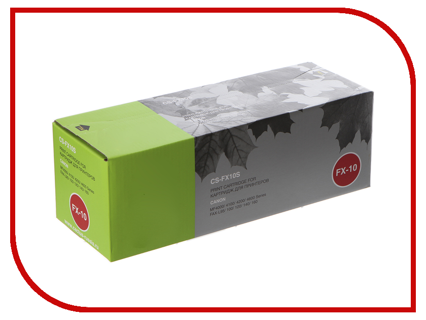 Картридж Cactus Black для MF4000/4100/4200/4600 Series FAX-L95 100/120 fx 10 0263b002 canon