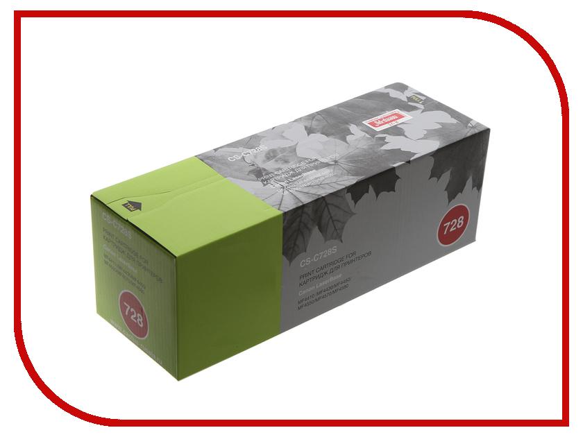 Фото - Картридж Cactus для i-SENSYS MF4410/MF4430/MF4450/MF4550D Black картридж canon 728 для i sensys mf4410 mf4430 mf4450 mf4550d mf4570dn mf 4580dn чёрный 2100 страниц